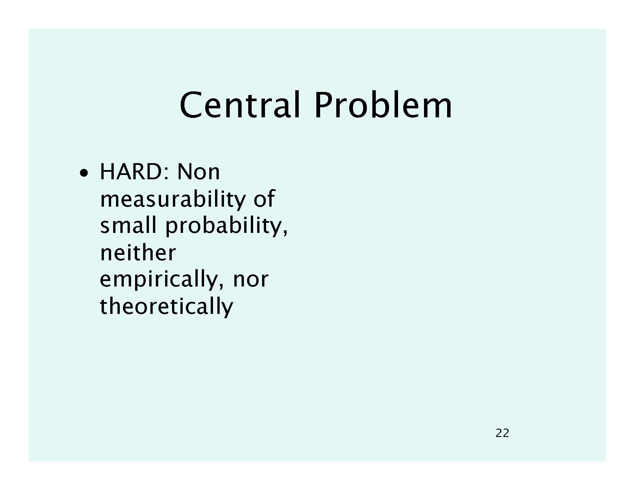 THE HARD PROBLEM | Edge org