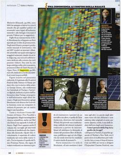7e4316437 il Venerdi di Repubblica (Friday Magazine) January 8