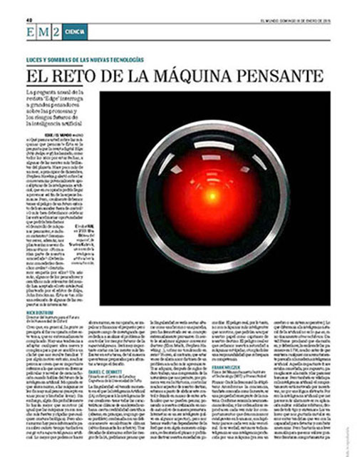WHAT DO YOU THINK ABOUT MACHINES THAT THINK? | Edge org